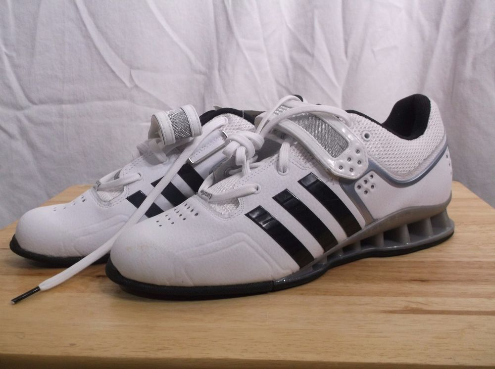 eBay  Sponsored NEW adidas Performance Adipower Weightlifting Trainer  Alterophile Shoe 9 US W W 462a4e373