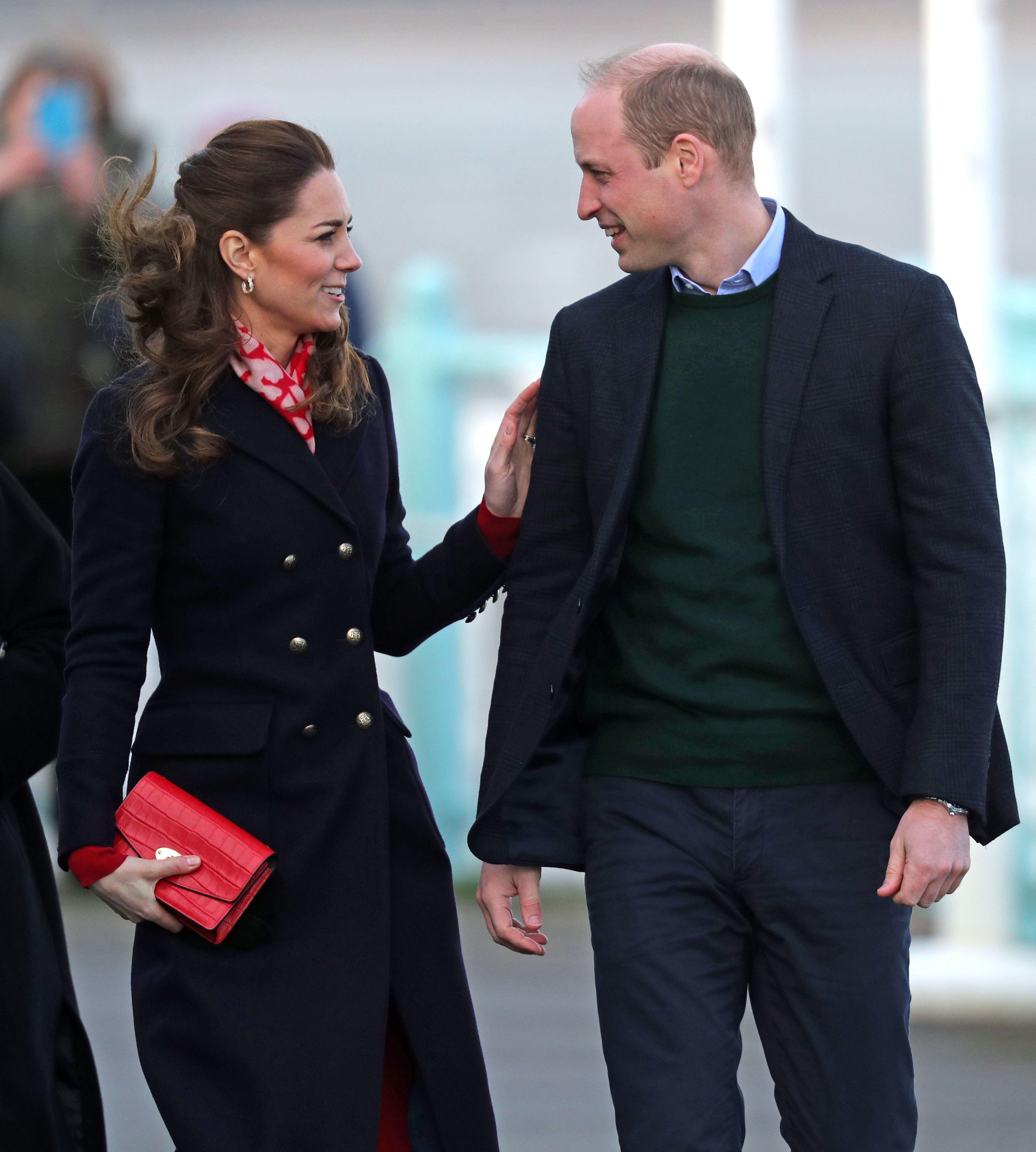 The Duke And Duchess Of Cambridge Prince William And Kate Middleton Herzogin Kate Prinz William Und Kate Prinz William