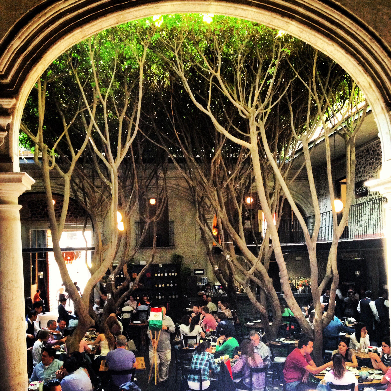 Azul hist rico restaurante en el centro hist rico m xico for Cafe el jardin centro historico