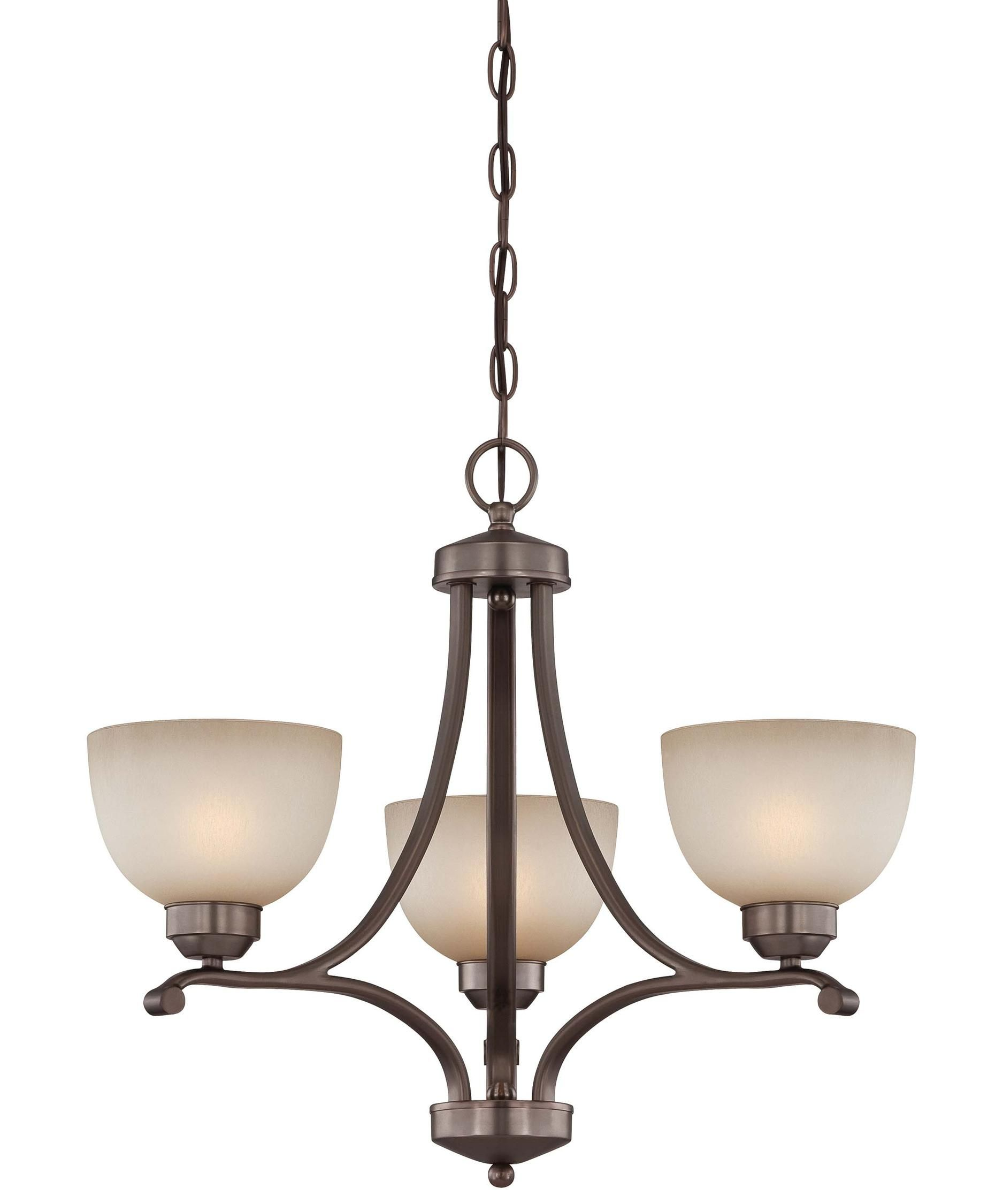 Shown in Bronze finish and Light French Scavo glass