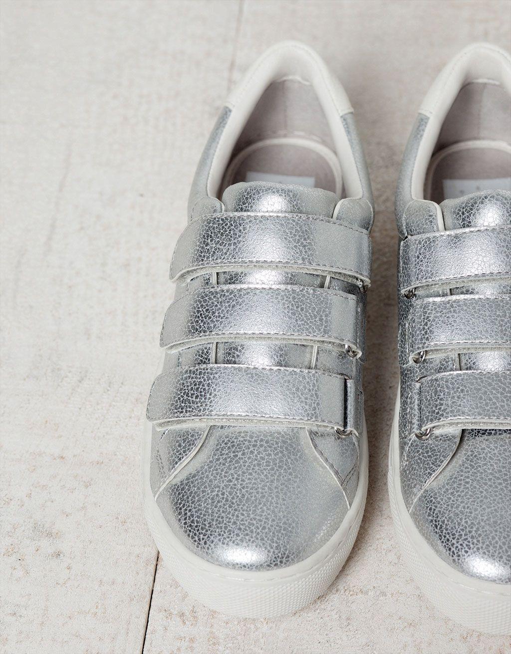 pretty nice ecd63 ad065 Bamba BSK Metalizada - Zapatos - Bershka Guatemala