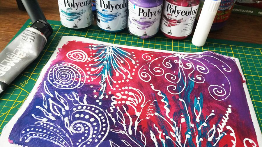 Pin On 100 Painting In Acrylics Great Acrylics Tutorials Tips How To Paint In Acrylics