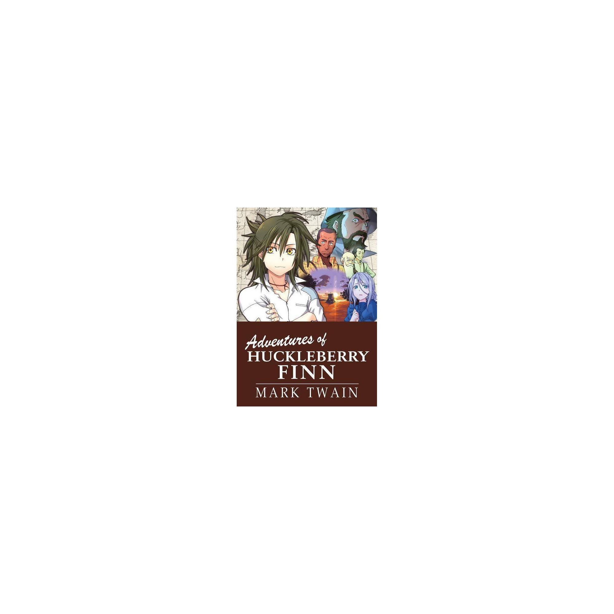Manga Classics The Adventures Of Huckleberry Finn