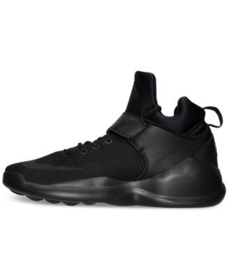 0538d2068ae5 Nike Men s Kwazi Basketball Sneakers from Finish Line - Black 11.5 ...