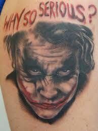 Resultat De Recherche D Images Pour Tatouage Joker Batman Peau D