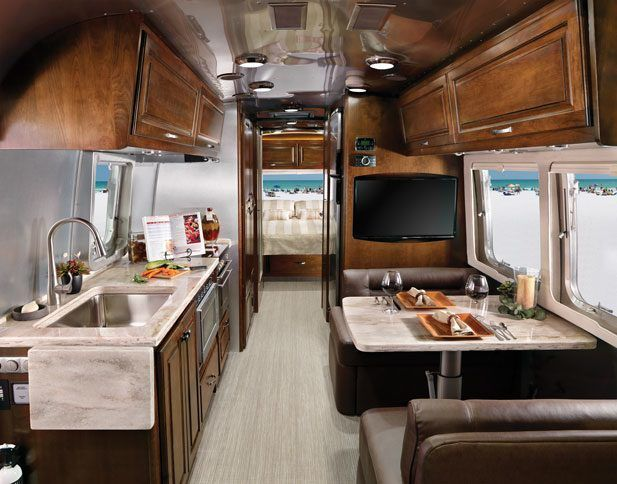 Dream Year 2019 Vintage Trailer Interior Luxury Rv Living Airstream Living