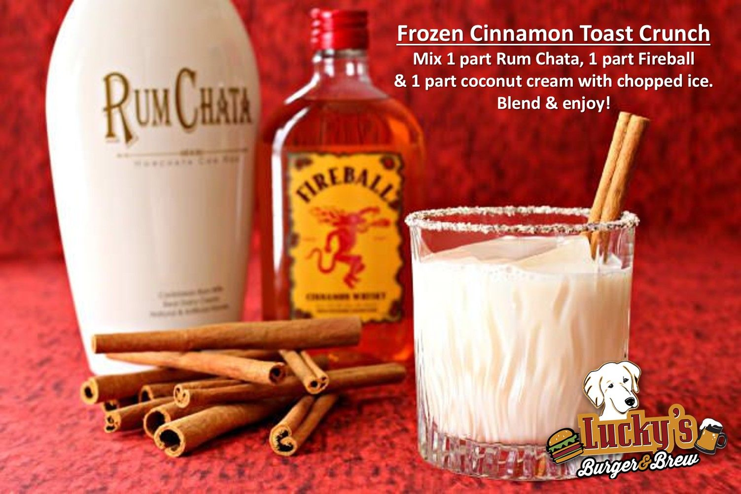 While You Re Stuck Inside Tonight Try Making This Yummy Frozencinnamontoastcrunch Drink Recipe Blend Cinnamon Toast Crunch Cinnamon Toast Savory Experiments