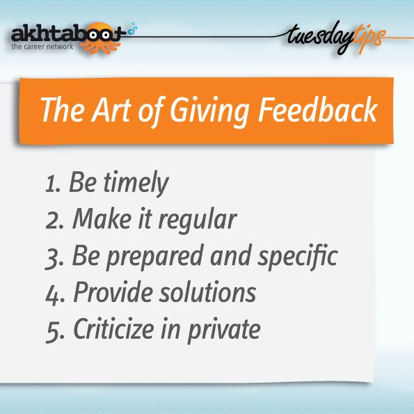 What Did You Say The Art Of Giving And Receiving Feedback