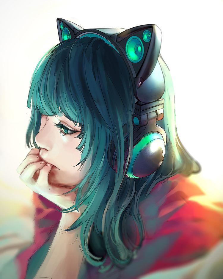 Axent Wear Music Redesigned Nekomimi Awesome Anime Anime Neko