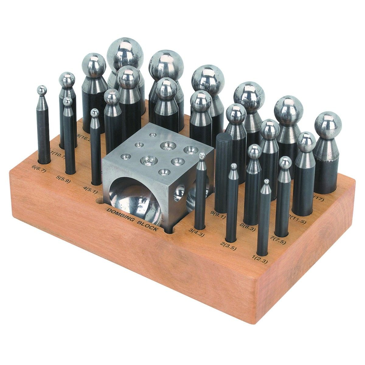 Doming Block And Punch Set 25 Pc In 2020 Penny Jewelry Jewelry Making Tools Metal Working Tools