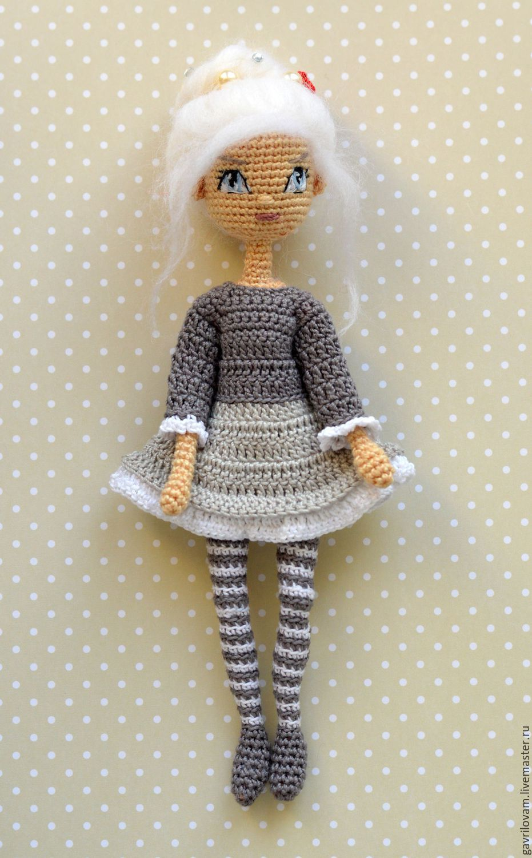 Мастер-классы для вязания амигуруми-куклы 28