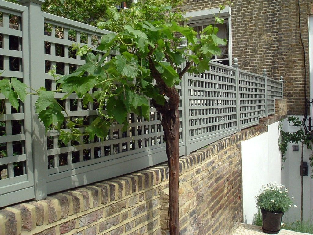 painted trellis panels g a r d e n pinterest. Black Bedroom Furniture Sets. Home Design Ideas