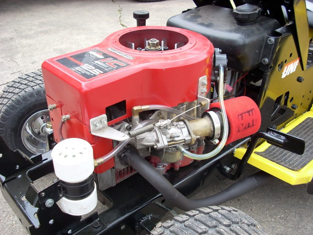 Racing Mower Engine