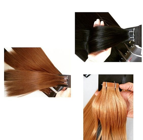 Tape In Hair Extensions There Are 5 Colors For You 1 1b 2 4