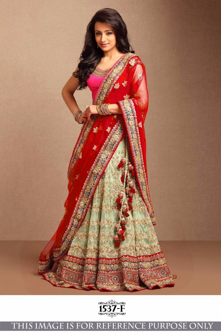 095697a967 Buy Bollywood Style Trisha Red color lehenga in USA, UK and Canada online  shopping from Kollybollyethnics.com