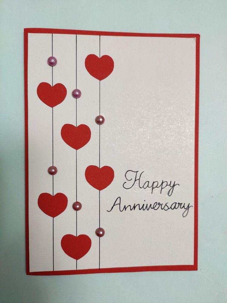 Anniversary Card Anniversary Cards Handmade Homemade Anniversary Cards Anniversary Greeting Cards
