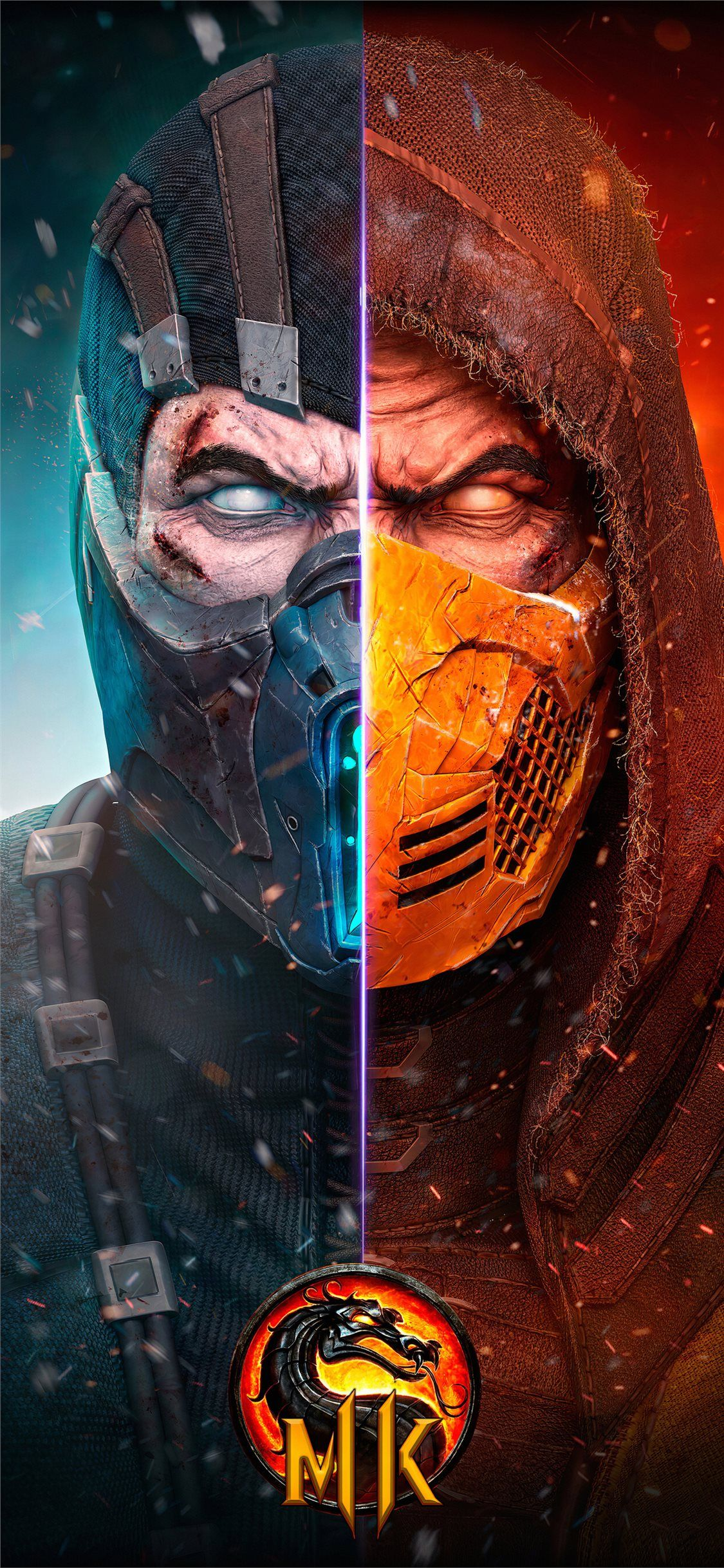 Scorpion Mortal Kombat X 4k New Iphone 11 Wallpapers Em 2020