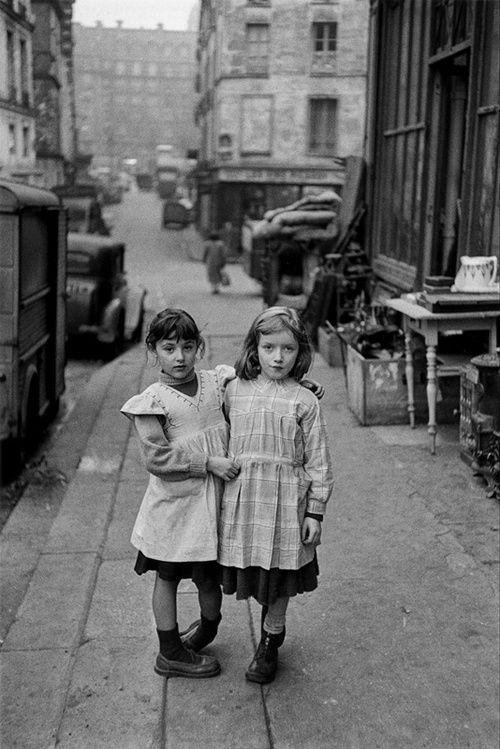 Edouard Boubat - Maubert Paris 1954