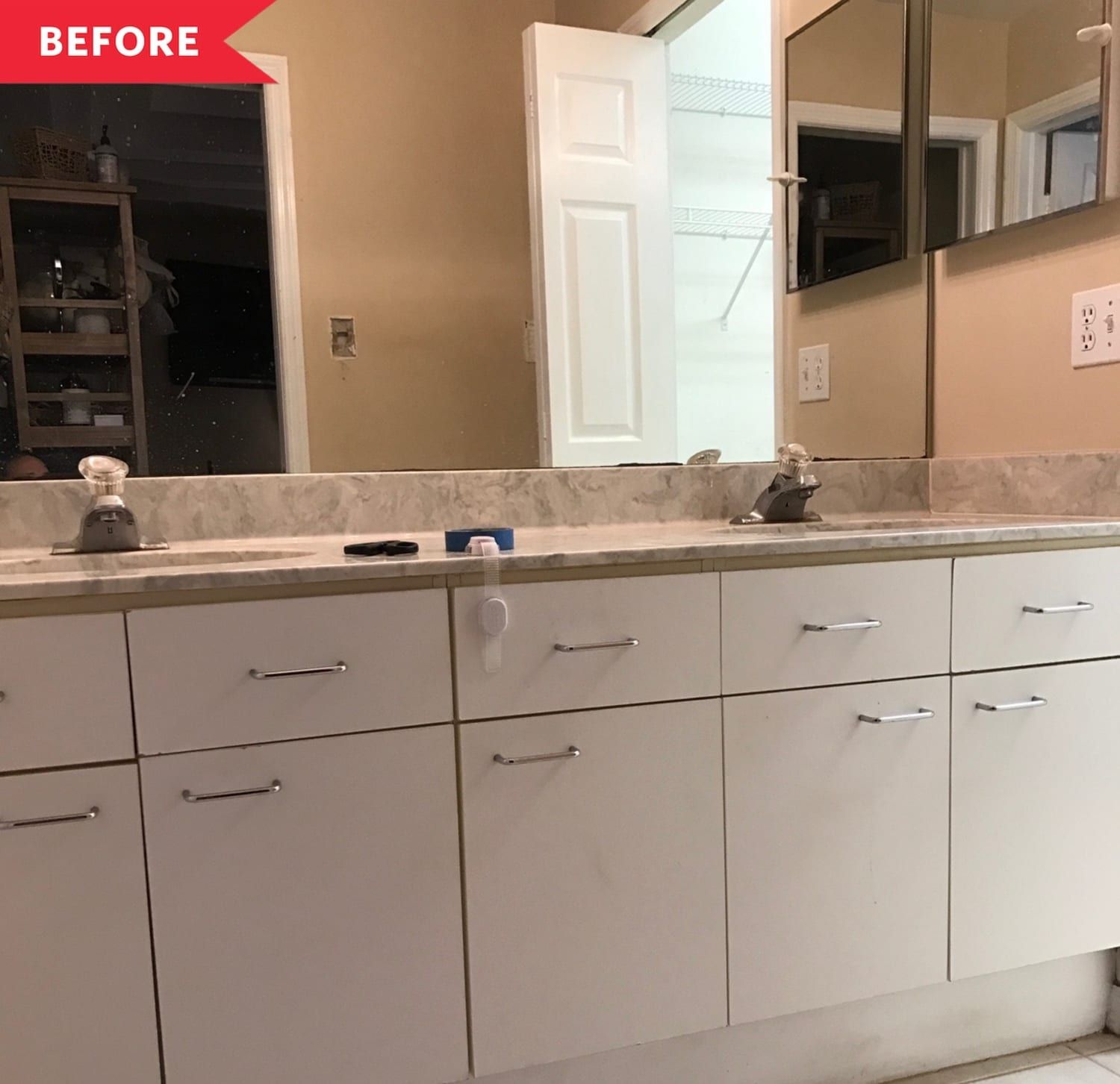 Before and After: This 1995-Era Master Bathroom Redo Is ...