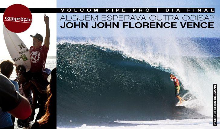 John John Florence wins Volcom Pipe Pro 2013