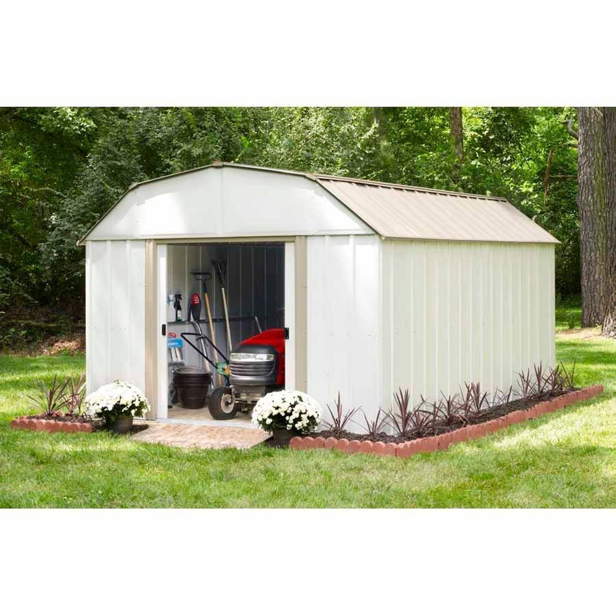 Arrow SR1012 10' x 12' Barn Roof Storage Shed Sears