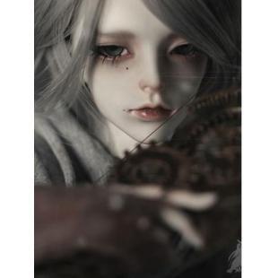 NEW BJD Gray 62cm Male Boll-jointed doll_DZ 58~70CM DOLLS