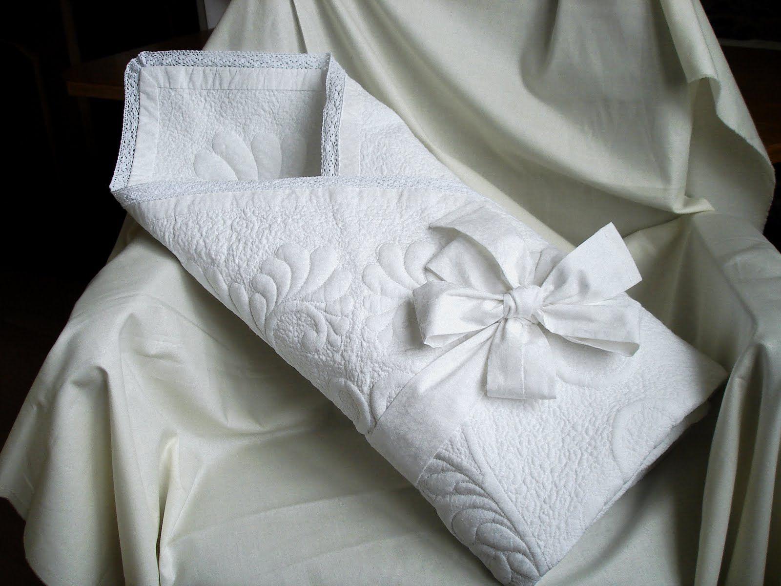 Своими руками детское одеяло на выписку
