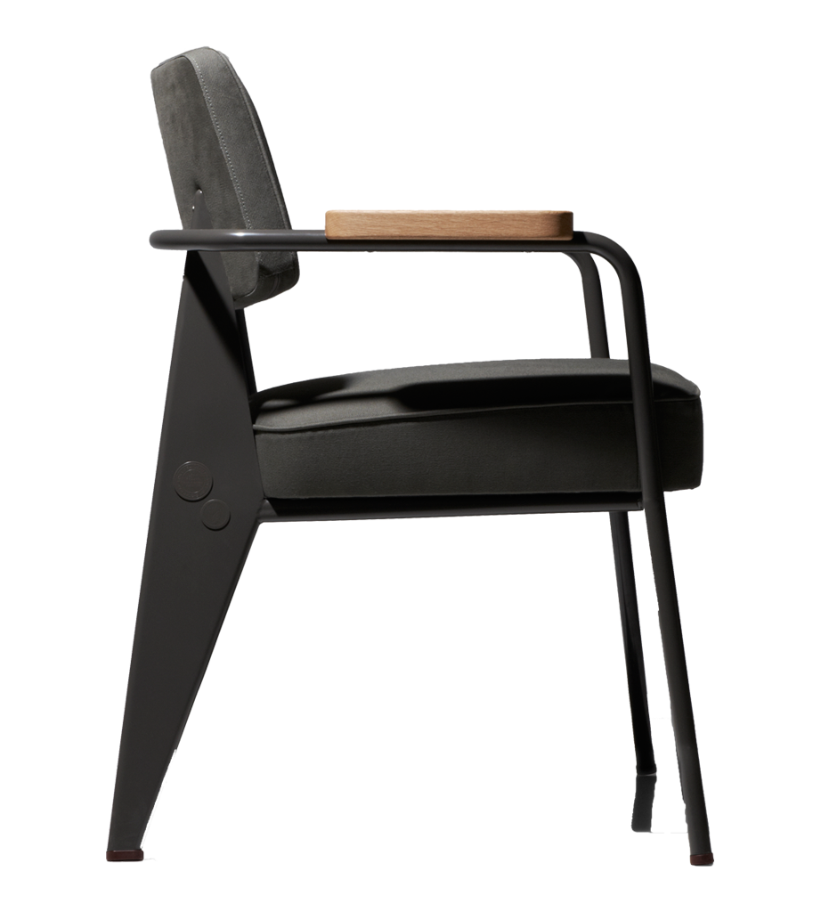 interprétation du fauteuil direction de jean prouvé pour la ... - Chaise Jean Prouve Prix