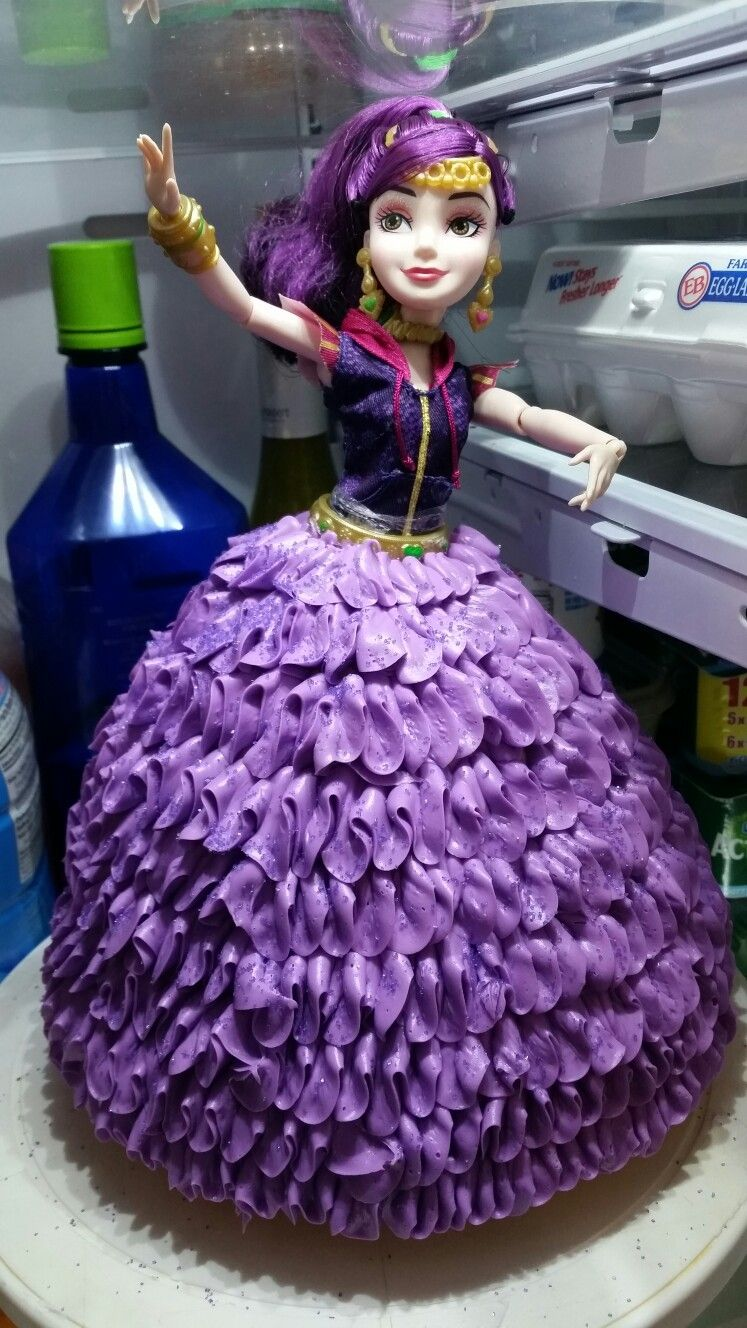 Mal From The Descendants Cakes And Cupcakes Pinterest