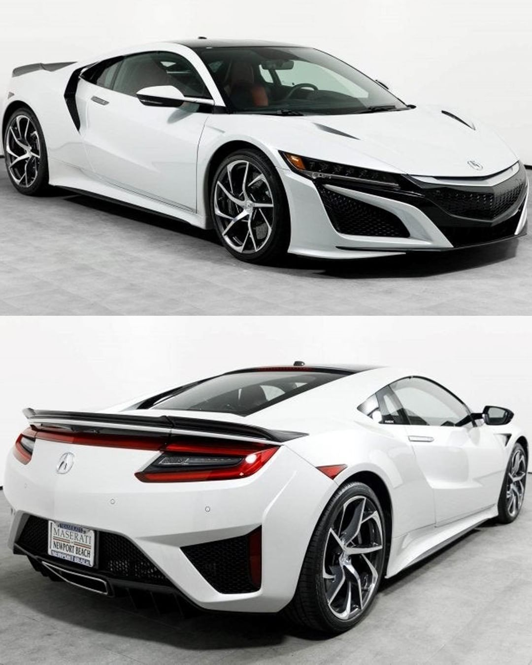 2018 Acura NSX, Finished In Casino White Pearl! - Price