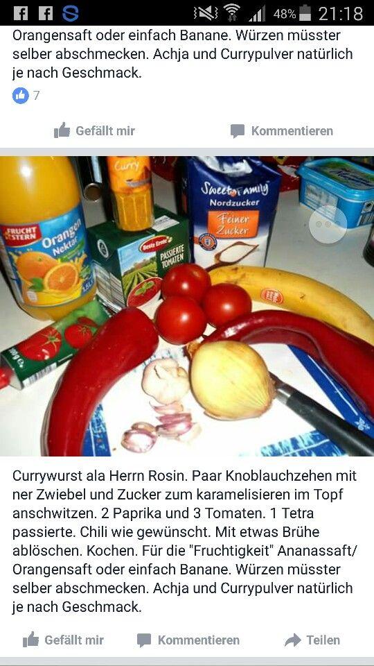 Currysoße