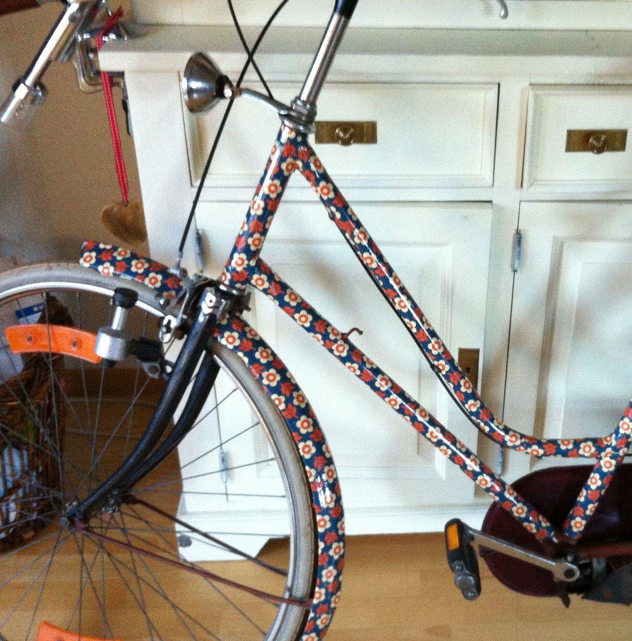 mooxibike fahrrad folie blumen diy basteln pinterest. Black Bedroom Furniture Sets. Home Design Ideas