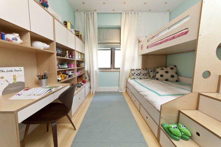 Idée Déco Chambre La Chambre Enfant Partagée Chambres - Decor pour garcon et fille chambre partagee