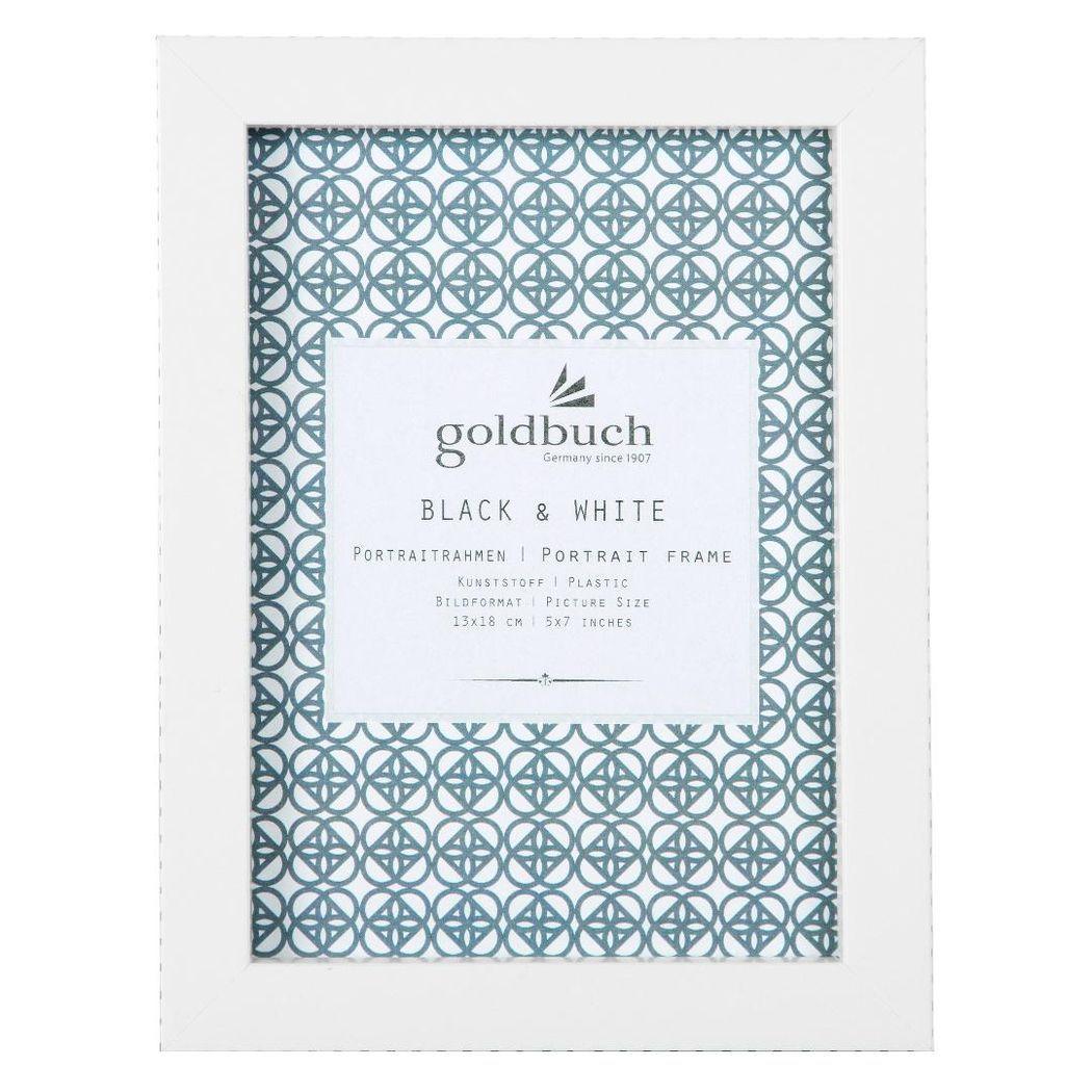 Goldbuch Rahmen Fresh Black & White 13x18cm