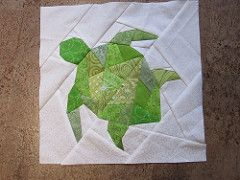 Geometric Turtle (Paper Pieced Quilts and Blocks {Foundation and English} Pool)