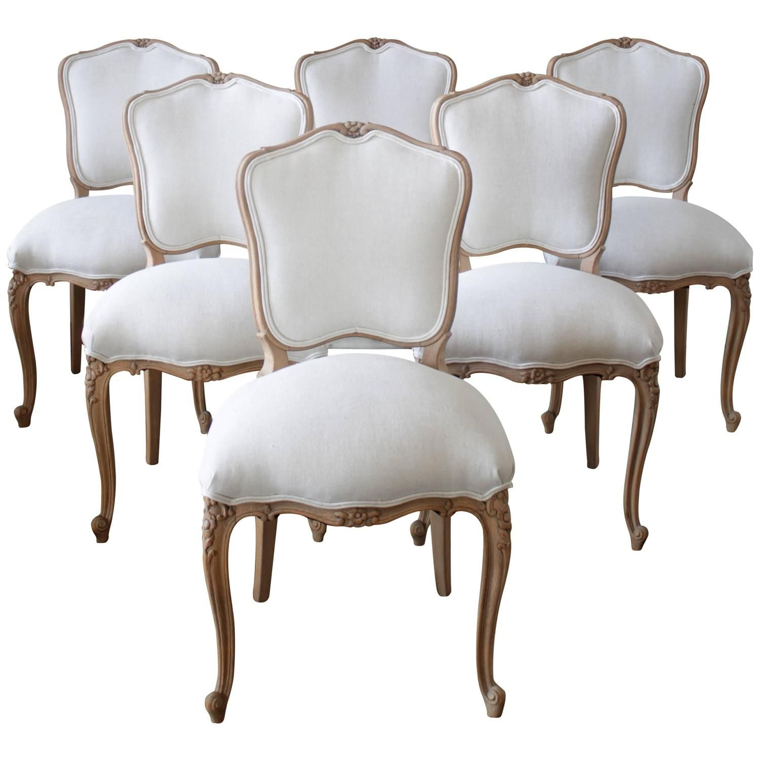 Louis Xv Style French Country Dining Chairs 1 French Country