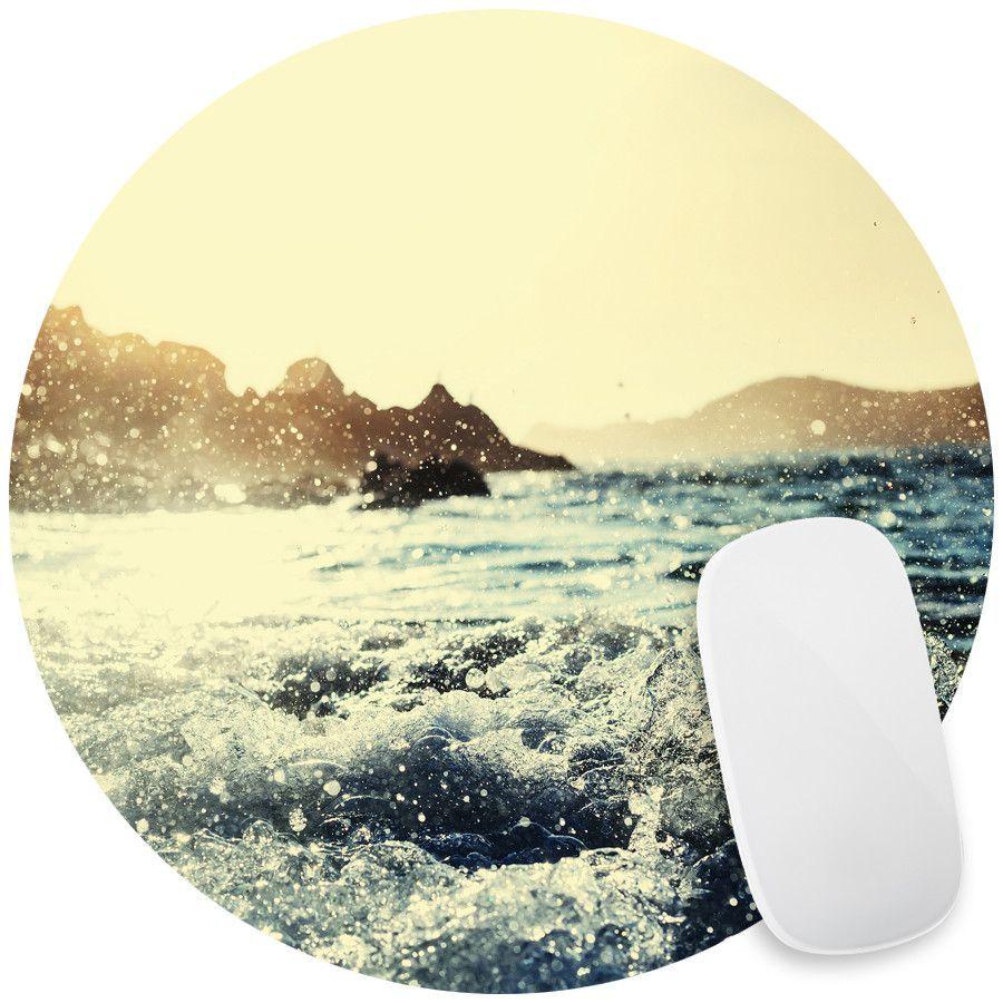 Seaside Sunrise Mouse Pad Decal