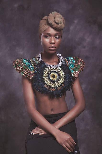 Breathtaking: Anita Quansah London SS14 | African