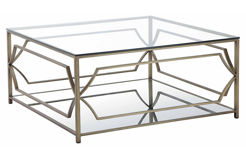 Edward Coffee Table, Brass Now: $639.00 Was: $799.00