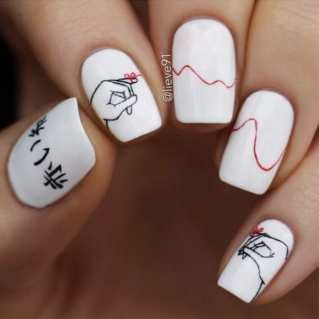 12 Cute Valentines Nail Designs To Try This Weekend