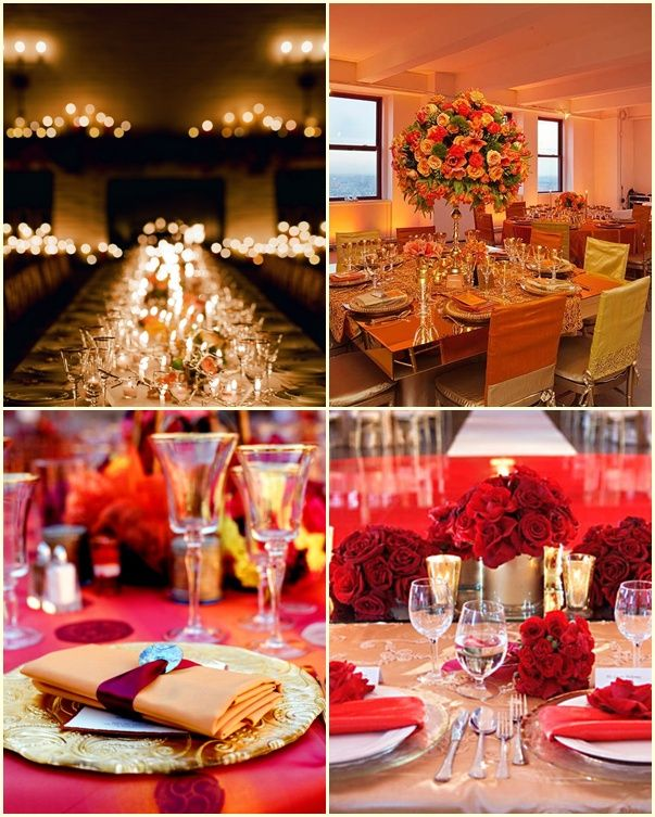 Decoracion de bodas en invierno con ideas super originales - Decoracion salones colores ...