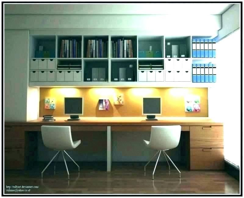 Home Office Small Shared Workspace Home Office Space Ideas Designs