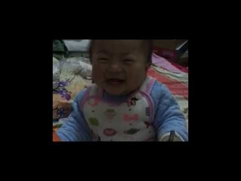 adorable laughing baby