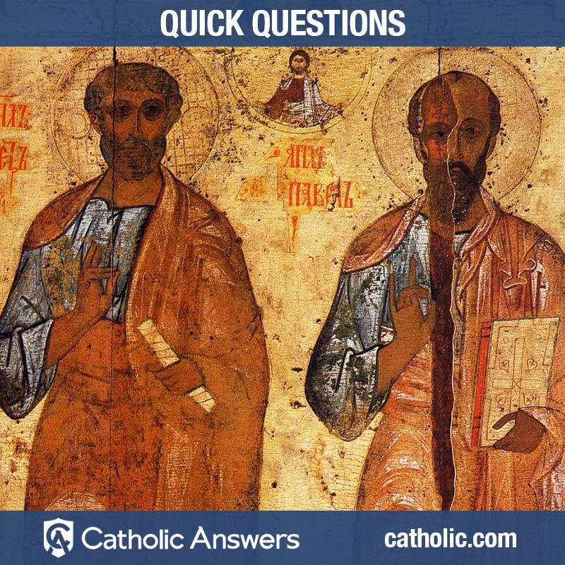 Did St. Peter know St. Paul? (With images) John