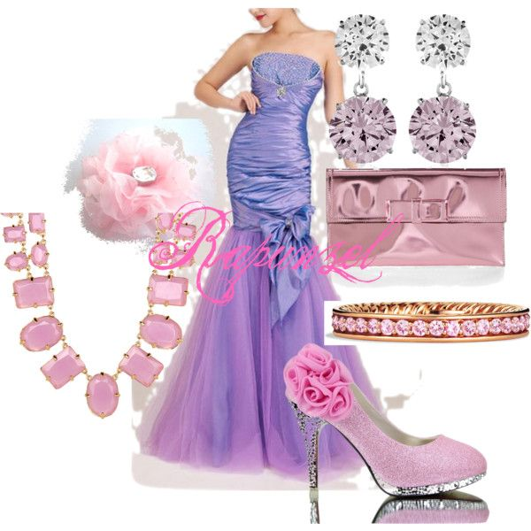 Rapunzel Prom Dress