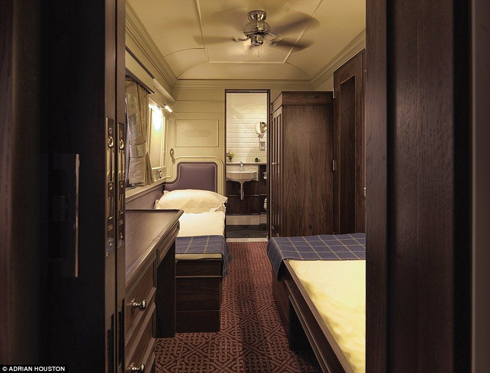 Each of the cabins have been named after an Irish county and their decorative themes inspired by the traditional tartan of the county