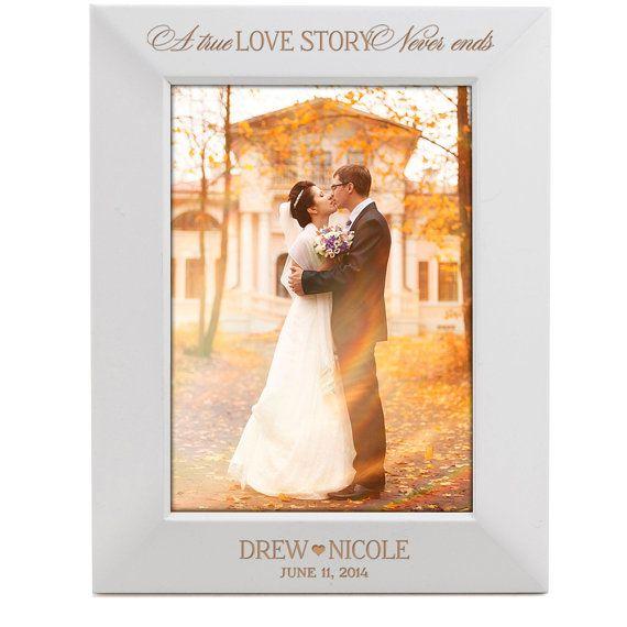 Parent wedding gift personalized wedding gift Wedding photo frame ...