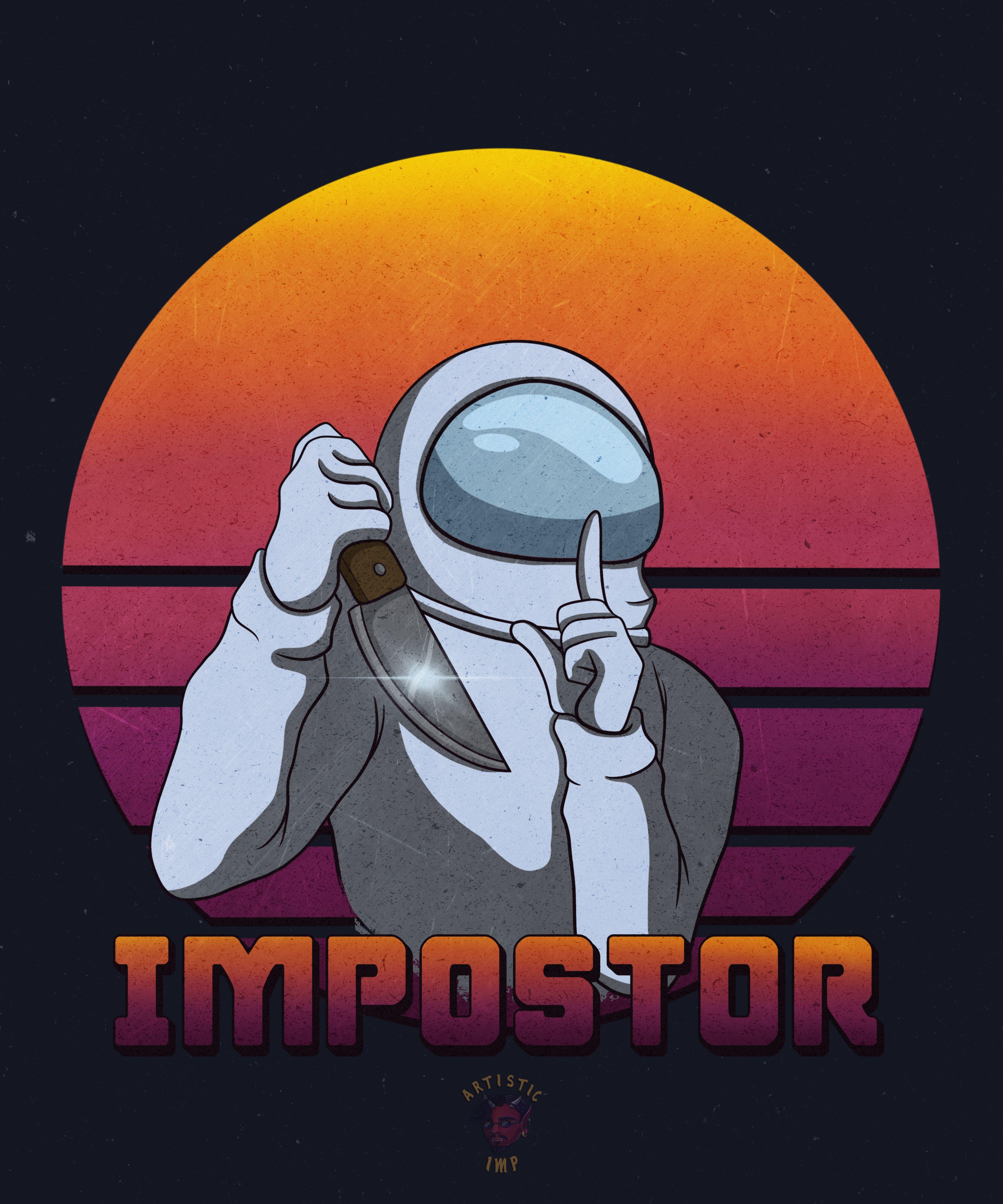 Pin On Among Us Impostor