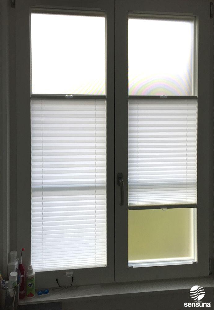sensuna® Badezimmer Plissees - nach Maß gefertigt - Kundenfoto ...