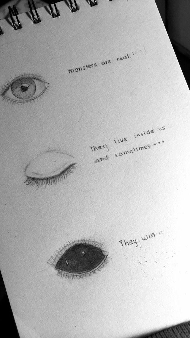 Pin von Alexis auf Moment | Zeichnungen, Traurige kunst ...